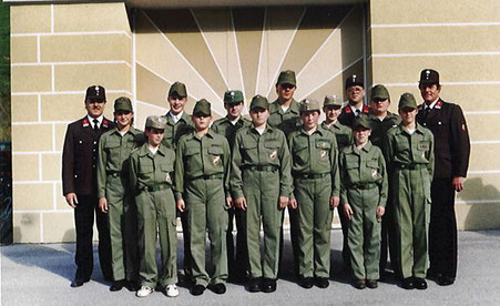1. Gruppe der Jugendfeuerwehr