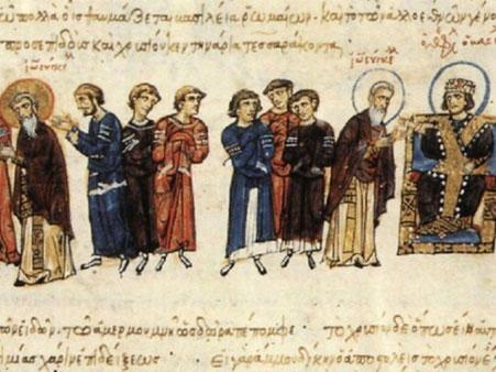 Image du Livre de la thériaque : Jean le Grammairien, Sultan Mamoun et l'Empereur Theophile