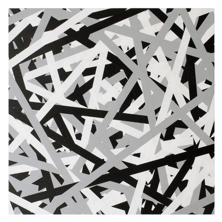 Daniel Schörnig  SIGNAL BLACK WHITE GRAY, 2018