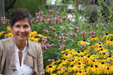 """Foto: Heinig Schwarzwälder-Bote    Claudia Wildi ist die Frau im Hintergrund. """"Ich engagiere mich gerne, liebe es aber gar nicht, im Mittelpunkt zu stehen"""". Zu diesem Interview hat sie ihr Mann Dietmar überredet."""