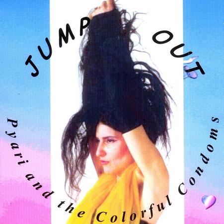 """Pyari numa sessão de foto,s em Hamburg, 1991, e usado para a capa do CD """"Jump Out"""""""