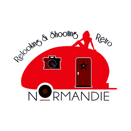 logo relooking pin-up en Normandie