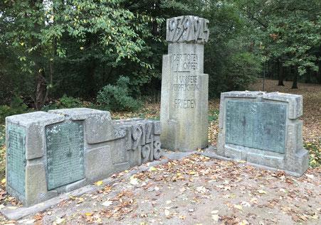 Das Kriegerdenkmal in Rünthe