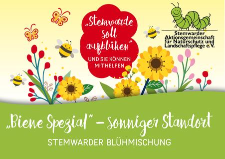 Die Stemwarder Blühmischung 2021 soll Lebensraum für Bienen und Insekten schaffen.