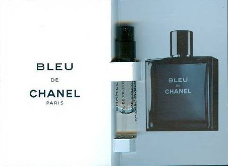 BLEU DE CHANEL - ECHANTILLON TUBE EN SPRAY