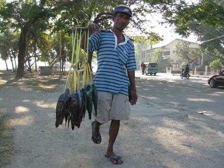 Sul lungomare di Dili