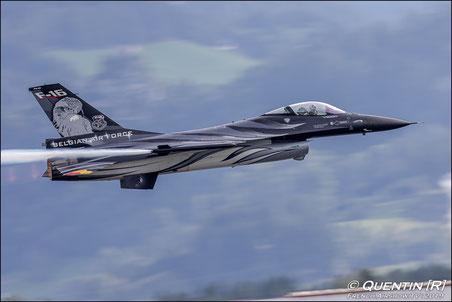 The F-16 Solo Display Team BE  F-16 Belge Display 2013  F-16 demo display team