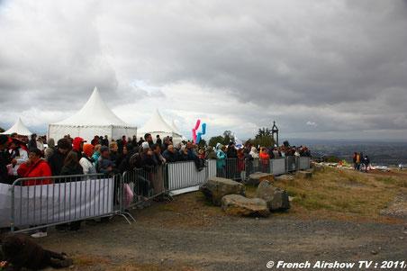 cervolix 2011 plateau gergovie clermont ferrand alphajet  patrouille de france cartouche dorée evaa cerf volant 2011 photo videos