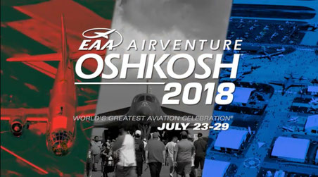 EAA AirVenture  Oshkosh Wisconsin Fly-In & Convention 2018