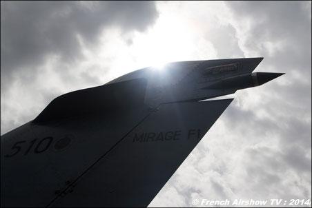 Mirage F-1 Farewell , bye bye Mirage F1 , CAROL HOTEL  80 ans armée de l'air 2014