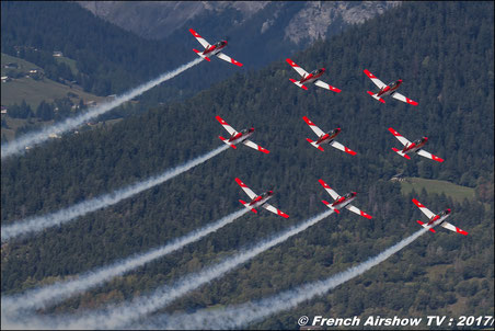 Patrouille suisse pc-7 team pilatus  Swiss Air Force PC-7 TEAM