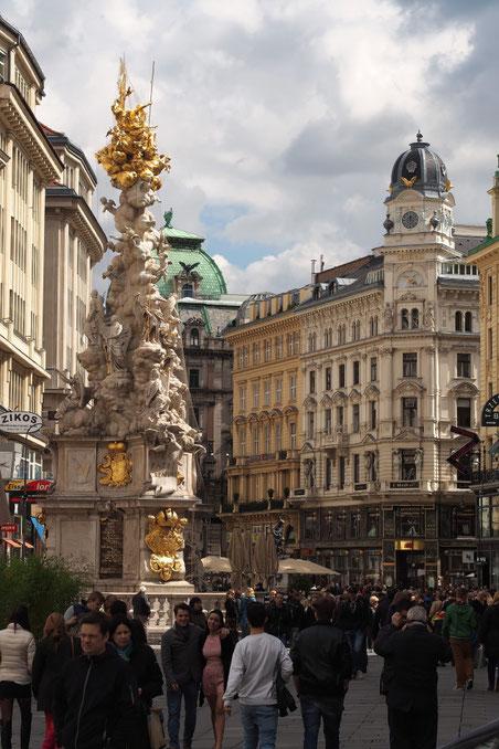Wien - Graben - Pestsäule