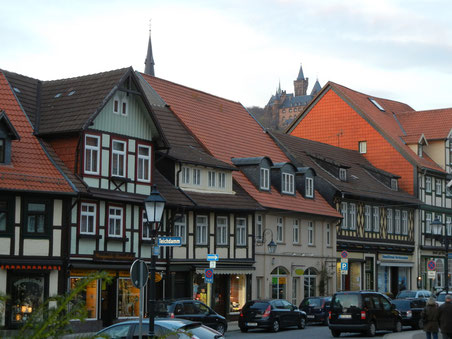 ヴェルニゲローデ(ドイツ)の町並み
