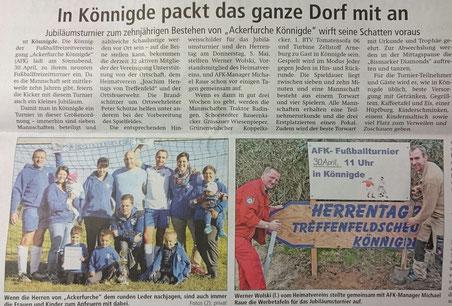 Altmark-Zeitung vom 12.04.2016, von Niels Troelenberg