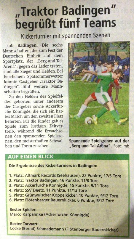 Altmark-Zeitung 07.10.2014