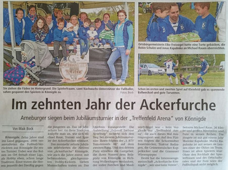 Altmark-Zeitung vom 04.05.2016, von Maik Bock