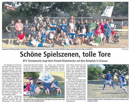 Altmark-Zeitung vom 24.08.2018, von Maik Bock