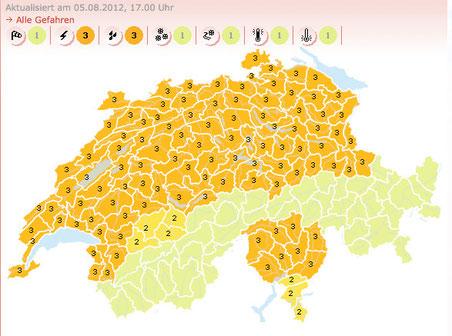 Bild: Screenshot www.meteoschweiz.admin.ch