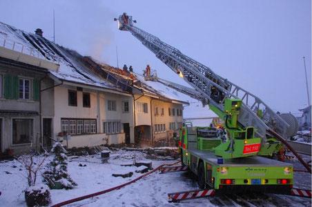 Bild: Feuerwehr Bubikon