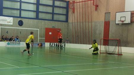 Sandra Kuster verwandelt einen Penalty (Bild: Dominic Illi)