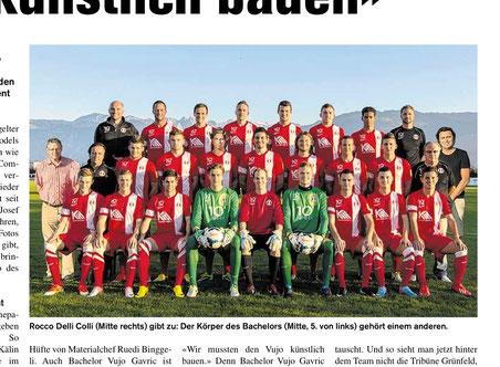 "Ausriss ""Obersee Nachrichten"""