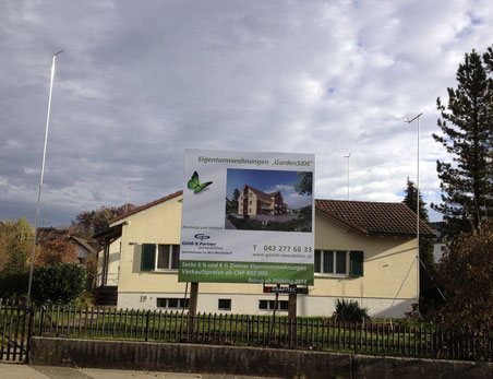 Das Wachstum soll vermehrt innerhalb der bestehenden Bauzonen erfolgen. Unser Bild zeigt ein Verdichtungsprojekt in Oberwolfhausen.