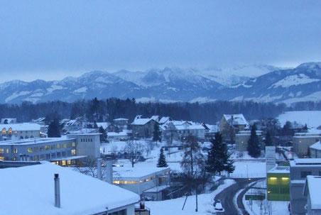 Wolfhausen, 13. Dezember 2012, 16.45 Uhr