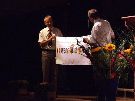 Einer der Höhepunkte in Bruno Franceschinis Amtsdauer: 1200-Jahr-Feier Bubikons im Jahr 2011