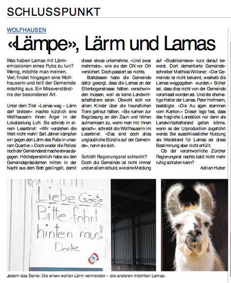 """""""Obersee Nachrichten"""" vom 28. Februar 2013"""