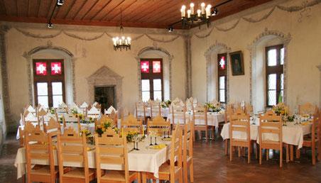 Wird zum Zürcher Ratshaussaal: Rittersaal im Ritterhaus Bubikon (Bild: ritterhaus.ch)