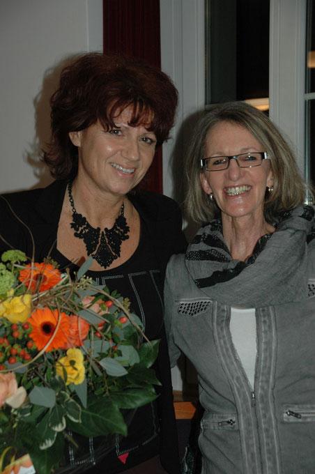 Gabriela Gasser (links) löst Lydia Eichmann ab