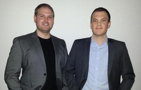 Enrique Gomez (links) und Erich Egli (rechts); Bild zvg