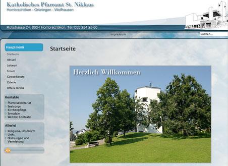 Bild: Screenshot www.pfarreistniklaus.ch/