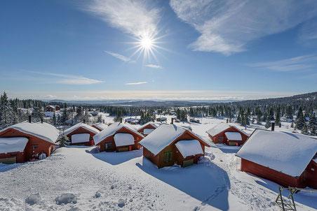 Nordseter Hütten preiswert direkt an der Loipe bei Nordlandexperte Helmut Singer buchen.