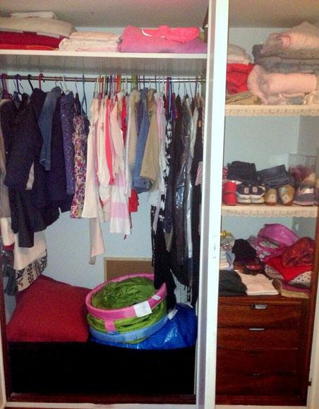 Un armario desorganizado te hace perder el tiempo - AorganiZarte