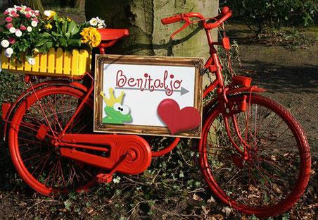 Franziska Borgwardt, Benitaljo, Rostock, Bremervörde, Mediengedesign, Logo, Visitenkarten, Fassadenschilder, Werbeschilder, Plönjeshausen