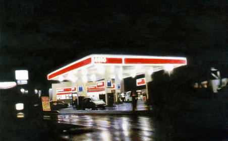 清原健彦 光のマッス キャンバスに油彩 2006年