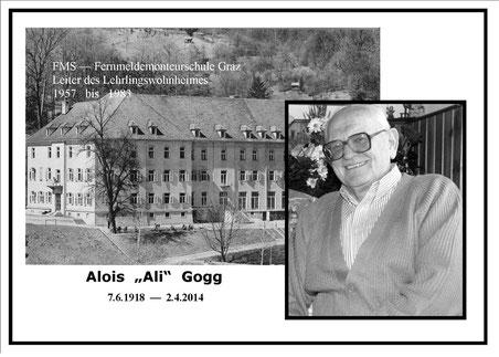 """Alois """"Ali"""" Gogg"""