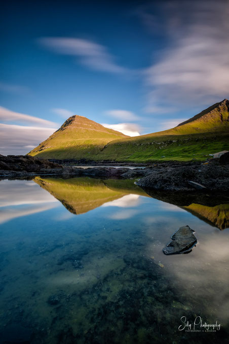 Färöer / Faroe Island, Gjøgv, Langzeitbelichtung, 2017, ©Silly Photography