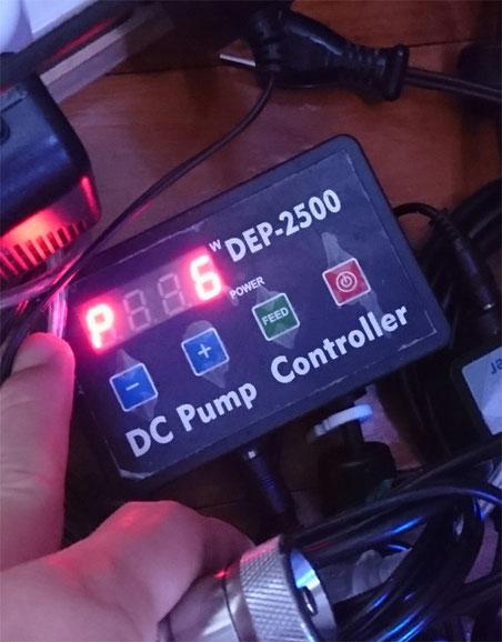 hsbao dcポンプ 直流ポンプ オーバーフロー水槽 DEP-2500 DCポンプ