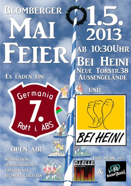 2. Blomberger Mai-Feier