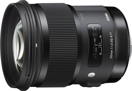 Sigma 50mm F1,4 DG HSM Art Objektiv