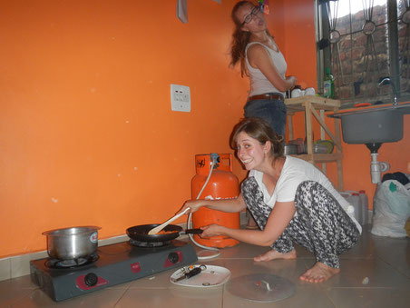 Spaaaaaaaß beim Kochen!