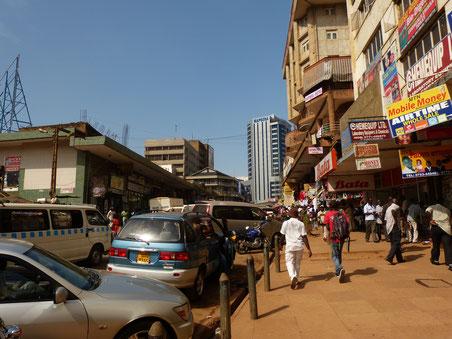 the streets of Kampala