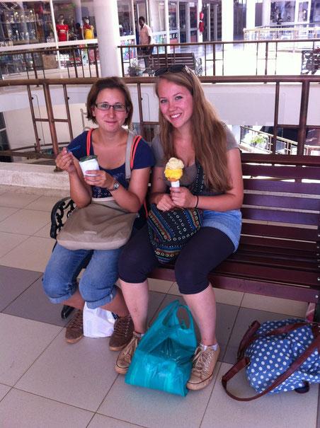 Zeit für ein Eis in der Garden City Mall