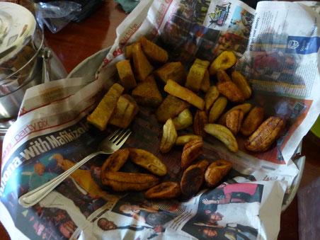 Gonja - frittierte Banane