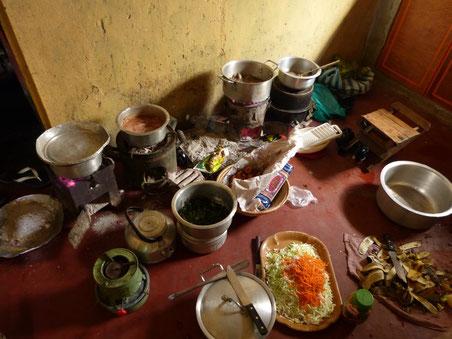 die Küche meiner Gastfamilie