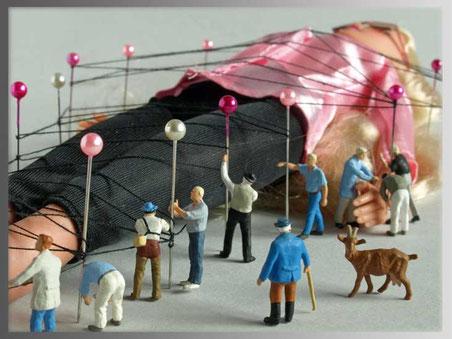 Die Schrumpfwelt Tilpuli ist das Königreich der Kunststoffknirpse