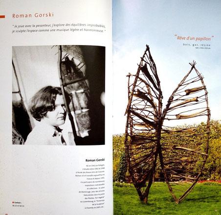 """2004 - """" L'éloge de la nature """" Jardin du Luxembourg, Paris - -Roman Gorski"""