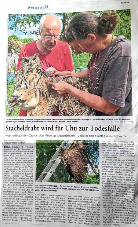 Westerwälder Zeitung vom 23.06.2021